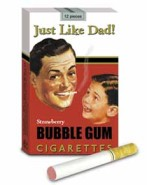 Just Like Dad Bubble Gum Cigarettes