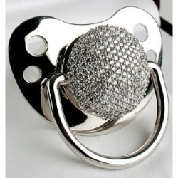 3 Carat Diamond Pacifier