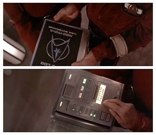 Delorean Star Trek Tablet