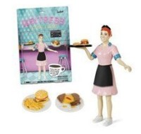 Waitress Action Figure