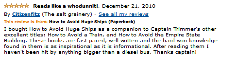 How to Avoid Huge Ships  Review