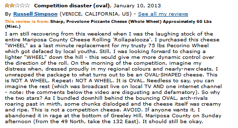 Cheese Wheel Review